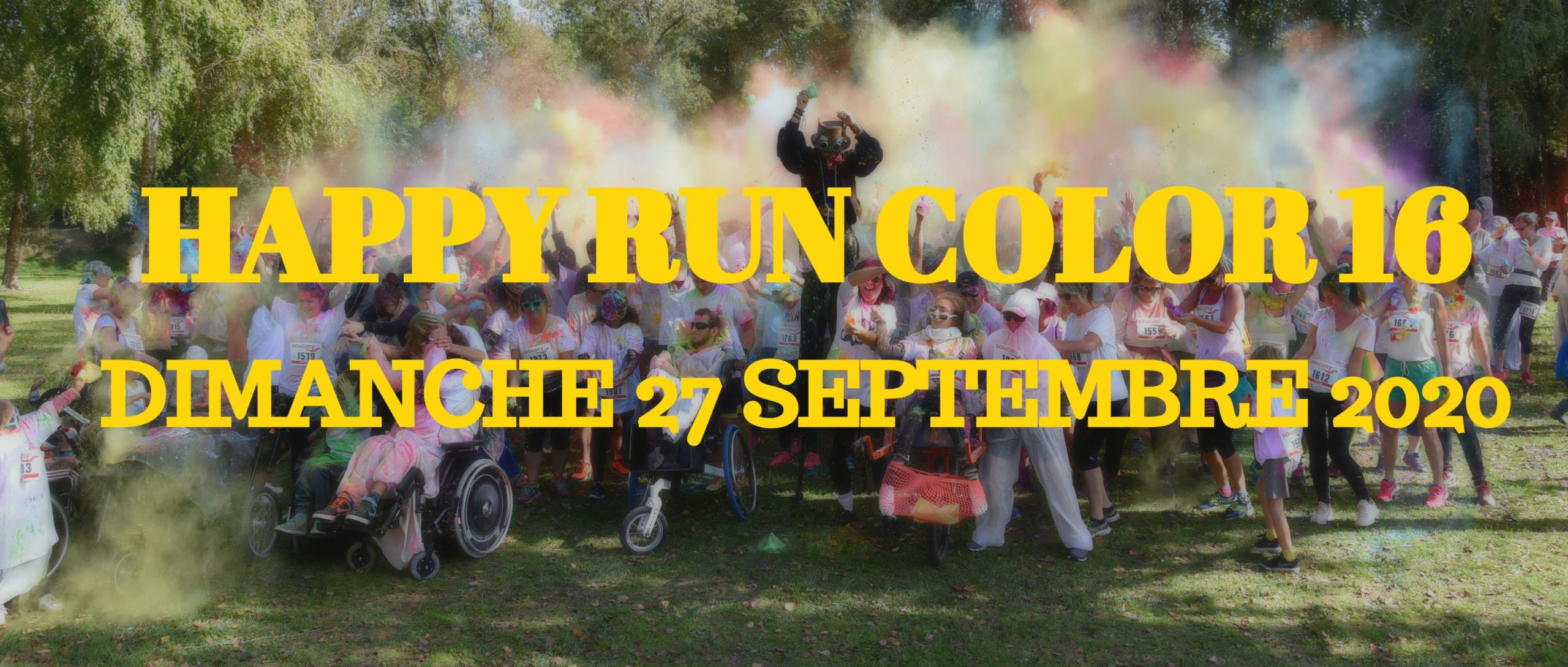 Happy Run Color 16avec Amil event
