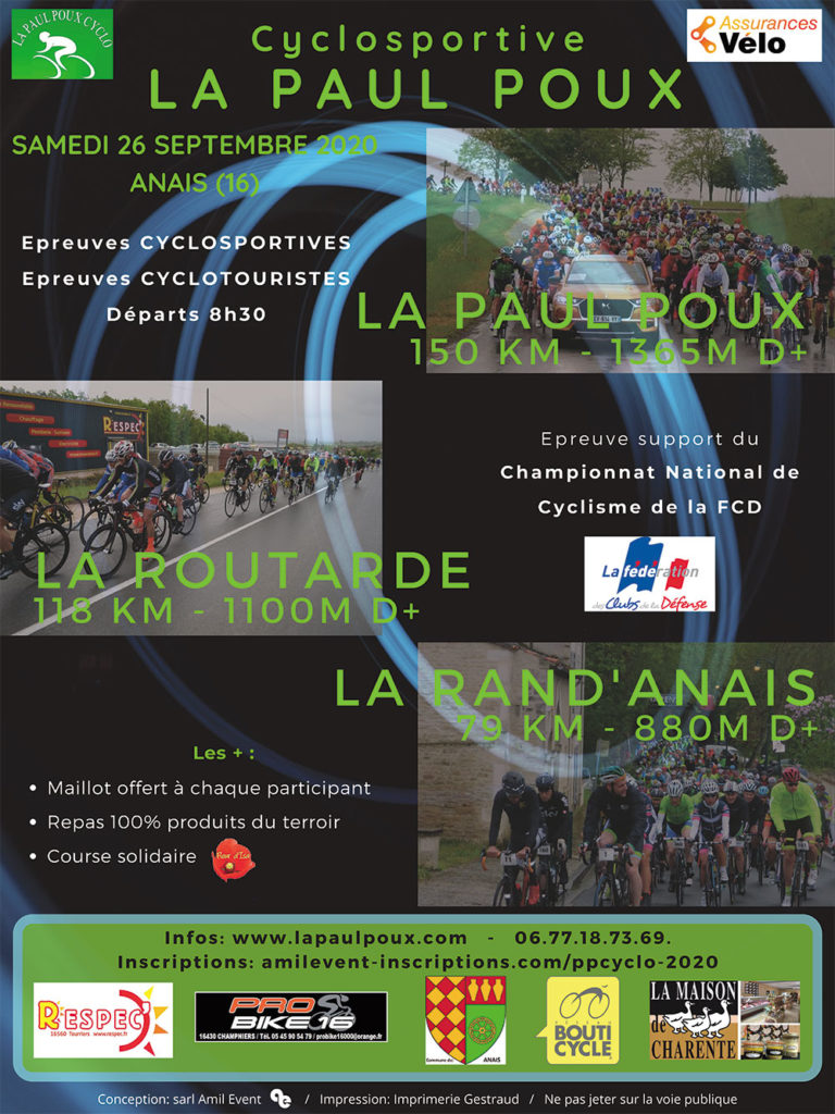 Paul Poux 2020 Cyclosportive