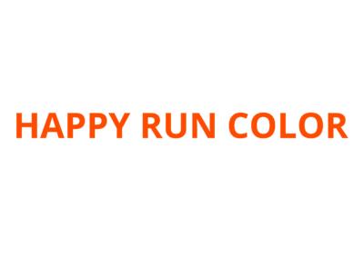 HAPPY RUN COLOR